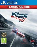 NEED FOR SPEED RIVALS PS4 CD FISICO CASTELLANO ESPAÑOL NUEVO PRECINTADO