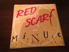 "RED SCARF - MINUTE 7"" SINGLE BELGIAN POWER POP - BELGIUM CIM 87'"