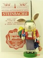 "Steinbach German Wooden Nutcracker Chubby ""Happy Rabbit� S1346 New"
