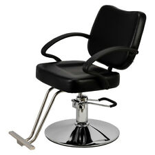 Hot Sale Classic Hydraulic Barber Chair Salon Beauty Spa Styling Equipment Black