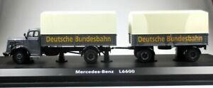 Schuco 03016 Mercedes-Benz L 6600 Deutsche Bundesbahn