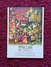 FOLDER Pinocchio al Circo - 2017 con 8 cartoline - raro