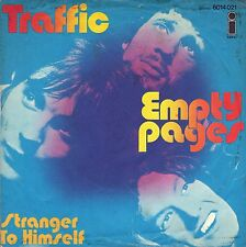 """7"""" Traffic (Steve winwwod) - empty pages/Stranger to Himself // Germany 1970"""