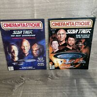Cinefantastique Magazine Vol 21, #2 Sept 1990 Star Trek March 1989 Vol 19 # 3