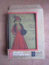 BRITISH LIBRARY A VERY NAUGHTY GIRL MINI TABLET CASE**NEW FREE P&P**