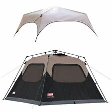 Coleman Instant Tent Rainfly Accessory 6-Person Camping Canopy Awning Tarp Sport