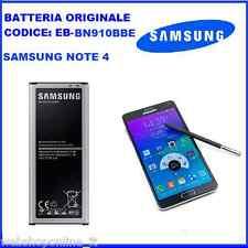 Batteria Ricambio ORIGINALE Samsung per NOTE 4  - EB-BN910BBE