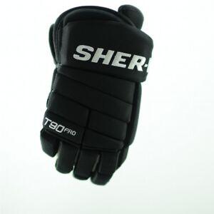 SHER-WOOD T90 PRO Ice/Roller Hockey Glove (Black)