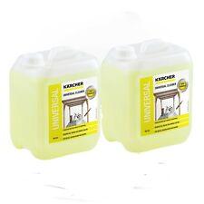Karcher RM555 Universal Pressure Washer Cleaner Liquid 5L 6.295-357.0 X2