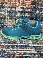 Columbia Fire Venture Blue Trail Trekker Hiking Shoes Womens Sz 7.5, 38.5