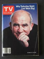 Vtg Apr 11-17 1981 TV Guide Saturday Night Live Gone Bad Ed Asner Lour Grant+