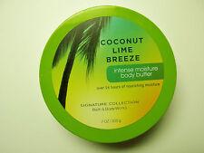 Bath Body Works COCONUT LIME BREEZE Body Butter, Full Size, 7 oz/200g, NEW x 1