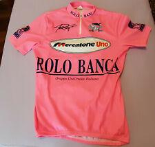 Pink Jersey, Maglia Rosa Marco Pantani Mercatone Uno. Used like new