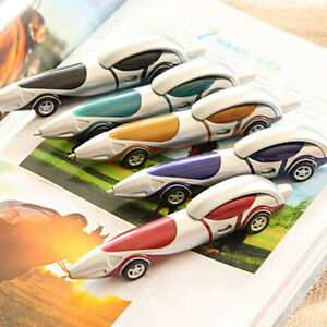 Funny ballpoint pen racing car child kids toy office child kids drawing toys^qi