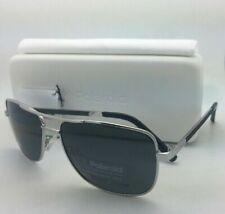 POLAROID Sunglasses PLD 2029/S 010 Y2 58-15 Palladium Silver Aviator w/Grey Lens