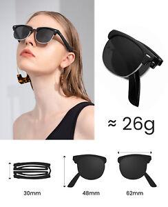 Cyxus Polarized Sunglasses Folding Foldable Eyeglasses Women Eyewear Driving