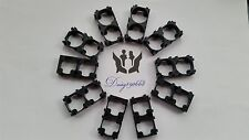 10pcs 18650 Battery Spacer   Plastic Heat Holder Bracket UK Seller