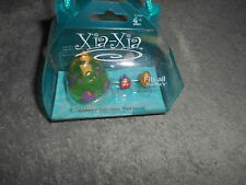 Cepia 2011 Xia-Xia Pet Hermit Crabs COLLECTIBLE SHELL & 2 little friends  GREEN