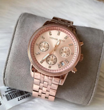 Michael Kors Ritz Rosegold-tone Chronograph Watch MK6077
