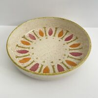 """Vintage 1962 Pepe by Red Wing Pottery 8 1/4"""" vegetable serving bowl"""