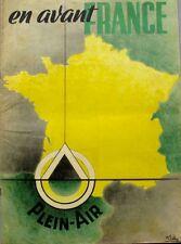 En avant France - Spécial Plein Air - Camping - A Pied - A Vélo - Année 40 -
