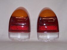 Light lens rear VW Beetle 1968 1974 tomb stone style, sold as a pair