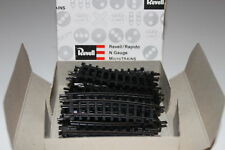 "N Scale Arnold RAPIDO / Revell Pieces 9"" Rad Curved 15 Deg Track"