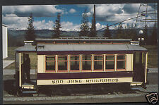 Transport Museum Postcard - Kelley Park Trolley Car Number 168, San Jose  A7119