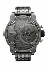 DZ7263 Diesel Watch, Men's Gunmetal Ion-Plated Stainless Steel Bracelet 51mm