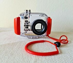 NIKON Waterproof Case WP-CP3 Clear Orange Black - Camera Case Only, Up to 130 FT