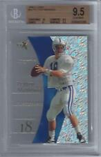 1998 Peyton Manning E-X2001 RC #54... Graded BGS 9.5 Gem Mint w/10 sub