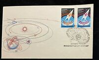 RARE Post Stamped FDC Covers. VOSTOK 2.1962.USSR.