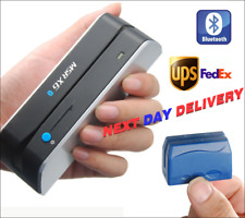 MSRX6BT+DX5 Bluetooth Wireless Magnetic Credit Card Reader Writer Encoder NEXT D