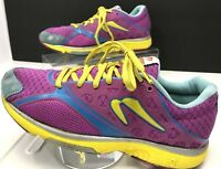 NEWTON MOTION III Women's Running Shoes Sneakers P.O.P. 1 ~ Size 8.5 Pink/Blue