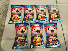 Yo-Kai Watch Trading Card Game Booster Pack - 10 cards - Lot of 7 Free Shipping!