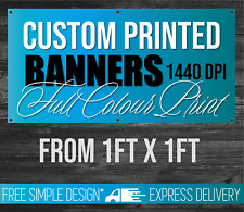 PVC Banners Personalised Outdoor Indoor Advertising UV and Waterproof Heavy Duty