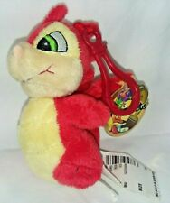 """New With Tags 2007 Neopets Red Scorchio Mini Plush Doll 4"""" Body Snap Creative"""
