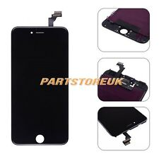New Black LCD Screen + Touch Digitizer Frame Assembly For iPhone 6 Plus 5.5''