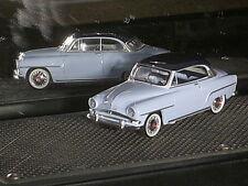 BELLE SIMCA  ARONDE GRAND LARGE (2portes) 1955/58  BLEUE