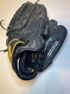 "Mizuno Power Close Fast Pitch GPL 1200F1 12"" Black Preowned Full Grain Leather"