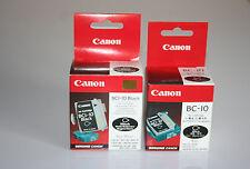 Canon bc10 + bci10 BK (3-pack) + 2x Office Depot bci10 BK