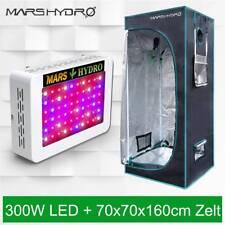 Mars Hydro 300W Led Grow Light+70×70×160cm Grow Zelt Tent Dark Room Gemüse Blume
