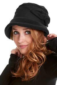 FLEECE HAT, FLEECE CLOCHE, PIXIE WINTER HAT, LADIES HAT, WOMEN'S HAT