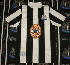 Newcastle United Home Football Shirt Jersey Score Draw Replica 1995 1997 Size M