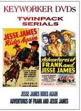 JESSE JAMES RIDES AGAIN / ADVENTURES OF FRANK AND JESSE JAMES  - Twin Pack