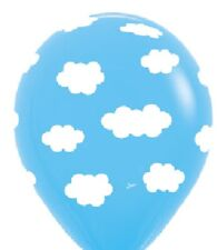10 Balloons new Clouds Party latex wedding Prom cloud nine Baby shower blue sky