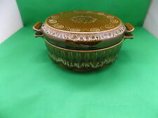 Crown Ducal '' Concorde Astra '' Handcrafted Brown Tureen with Lid