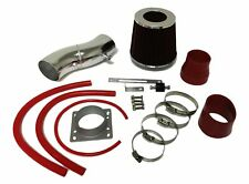 Red For 1993-1997 Nissan ALtima 2.4L L4 Air Intake System Kit + Filter