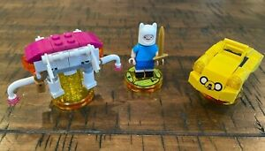 Lego Dimensions Adventure Time Level Pack 71245 Finn or Jakemobile Or Elephant