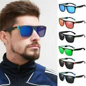 Retro Square Sport Driving Cycling Fishing Polarized Sunglasses Men Women New